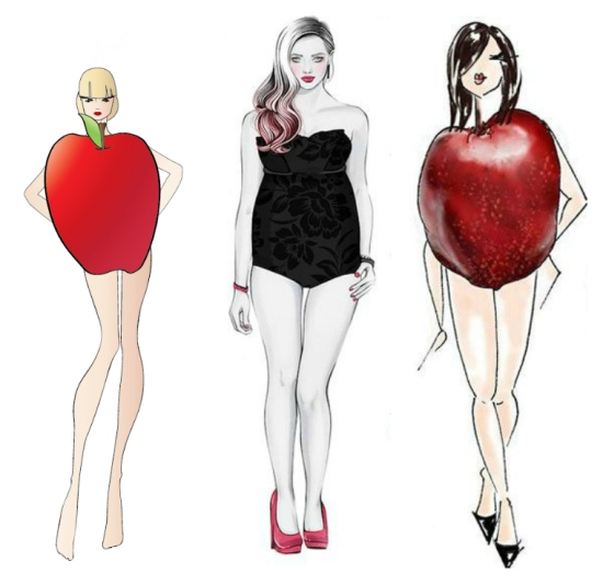 Apple-shapedCollage