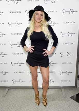 LOS ANGELES, CA - SEPTEMBER 20: Jessica Simpson wearing Jessica Simpson Collection attends Jessica Simpson Collection Fashion Show at Nordstrom on September 20, 2014 in Los Angeles, California. (Photo by Jamie McCarthy/Getty Images for Jessica Simpson Collection) ORG XMIT: 501215587 ORIG FILE ID: 455826962