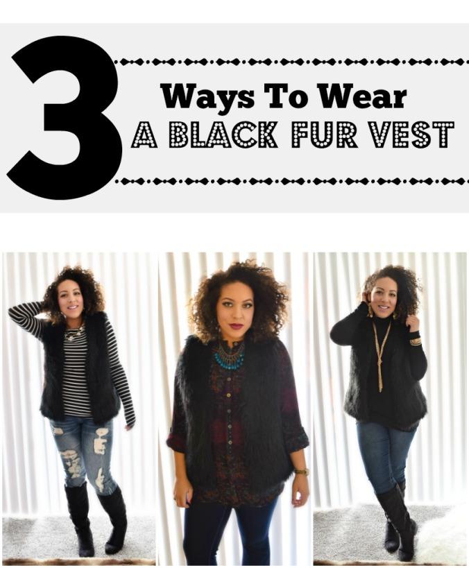 black-fur-vest