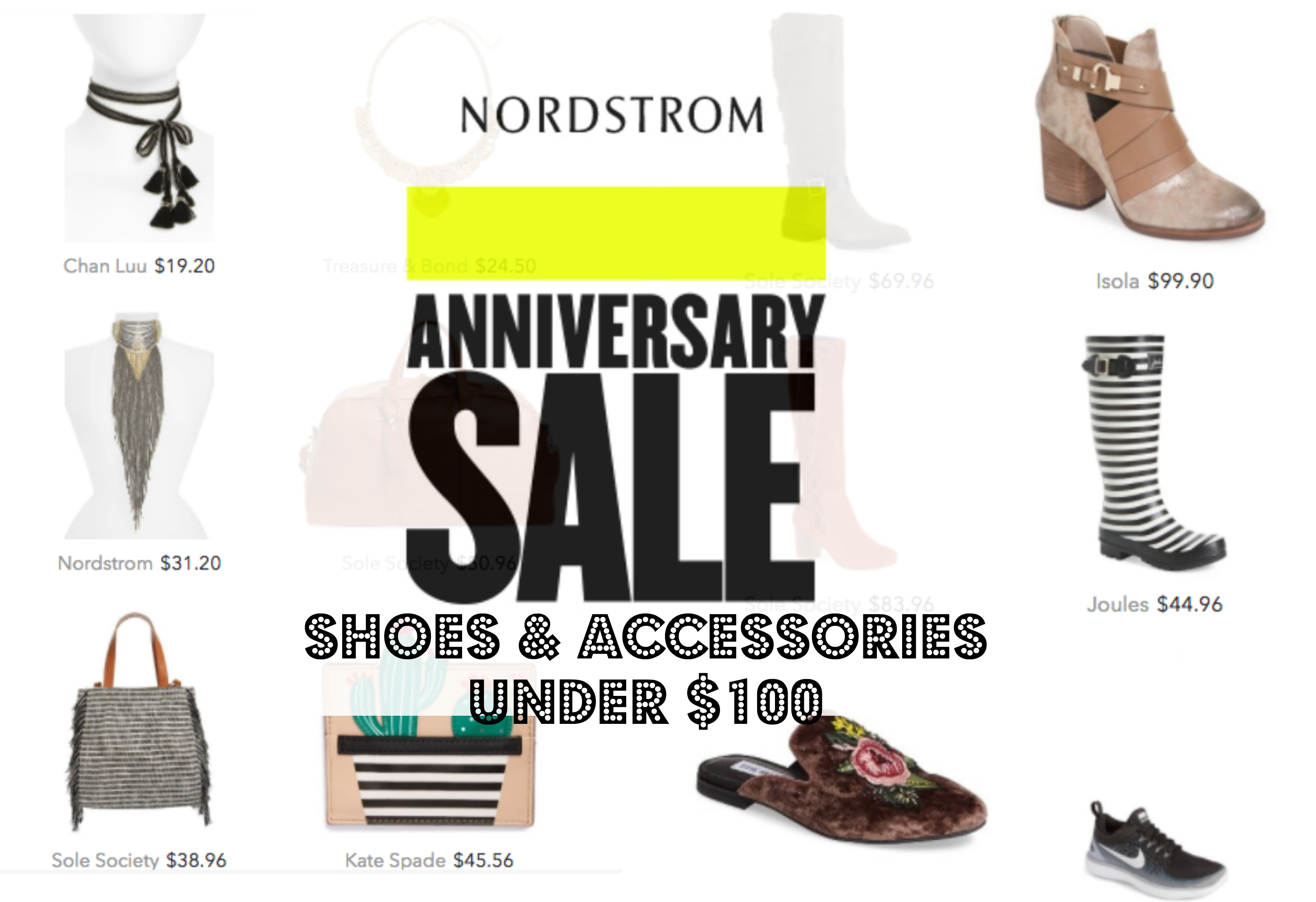 If I Was Shopping The NSALE | Shoes & Accessories Under $100